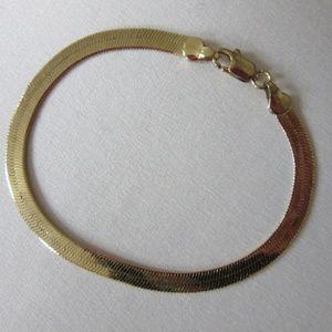 Jewelry - 14 kt  karat gold-plated clasp bracelet